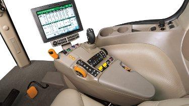 Все функции находятся в пределах досягаемости на пульте управления CommandARM