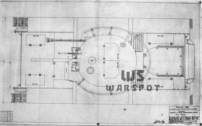 Ввиду прорабатывания в качестве альтернативного вооружения 76-мм орудий башня Т-46 была больше, чем у Т-26. - Колёсно-гусеничный тупик   Warspot.ru