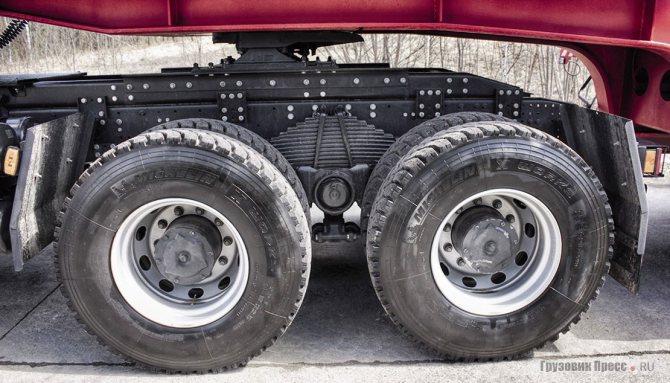 Высота седельно-сцепного устройства – 1180 мм