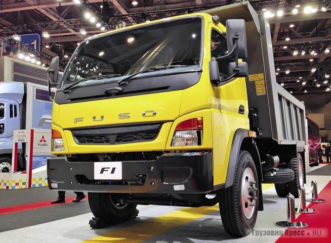 Японская рама, кабина и двигатель от Mercedes-Benz – специальная модель Fuso F1 для Азии и Африки