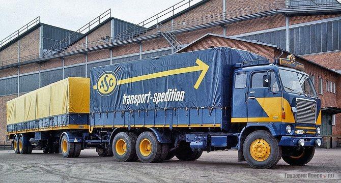 За счёт смещения кабины назад Volvo G88 имел укороченный на 30 см передний свес. Автомобиль крупнейшего шведского перевозчика ASG