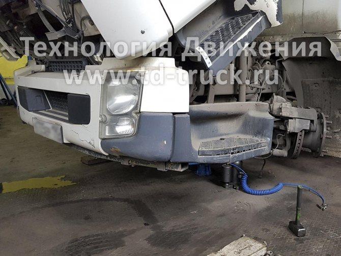 Замена шкворней Volvo FE