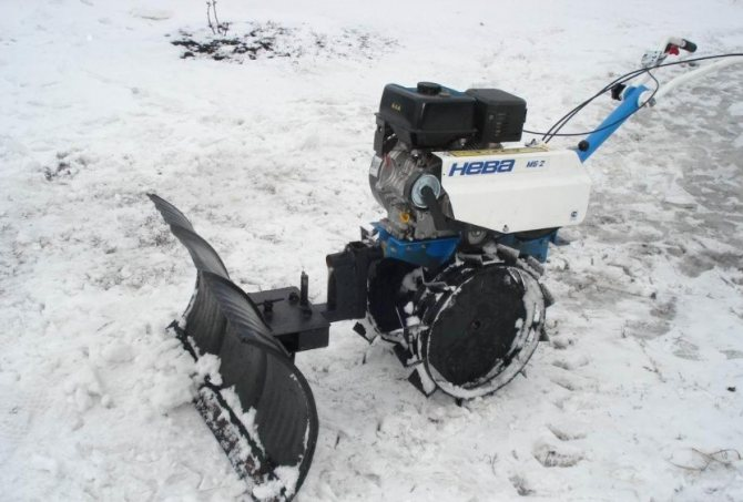 Запуск мотоблока после зимы