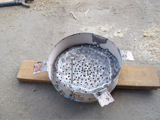 зернодробилка из болгарки своими руками