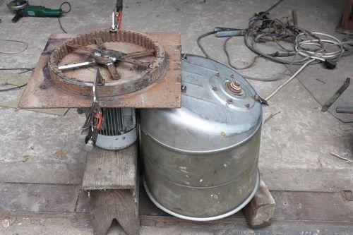 Зернодробилка своими руками из стиральной