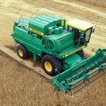 Зерноуборочная машина