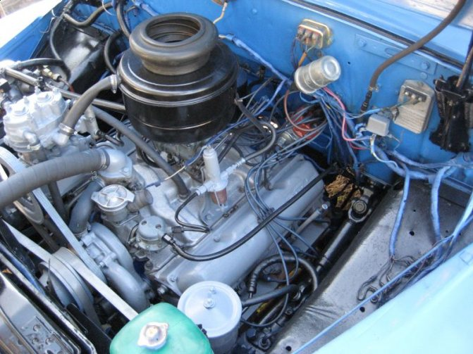 ЗИЛ-130 двигатель