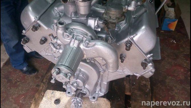 ЗИЛ 130 технические характеристики двигатель