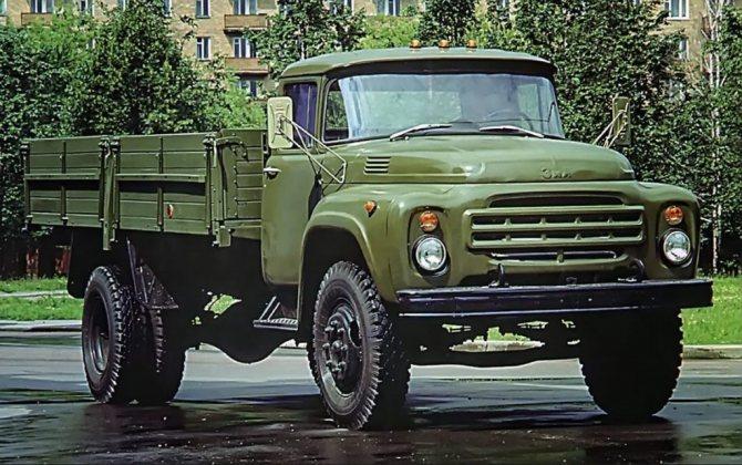 ЗИЛ-130 выпуска 1968
