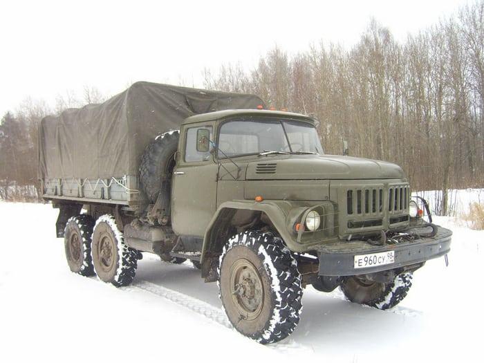ЗИЛ-131 зимой